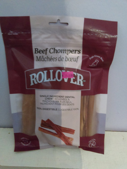 Rollover Beef Chompers 10 pack