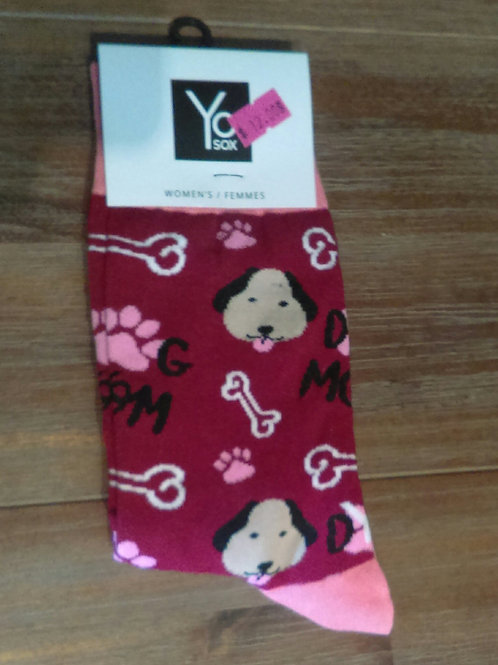Yo Socks - Women's - Dog Mom