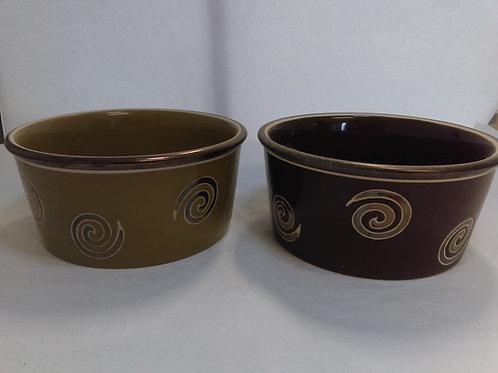 Medium Sized Ceramic Dog Food Bowls