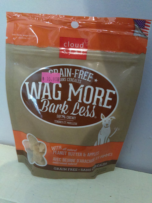 Wag More Bark Less Peanut Butter and Apples 142g