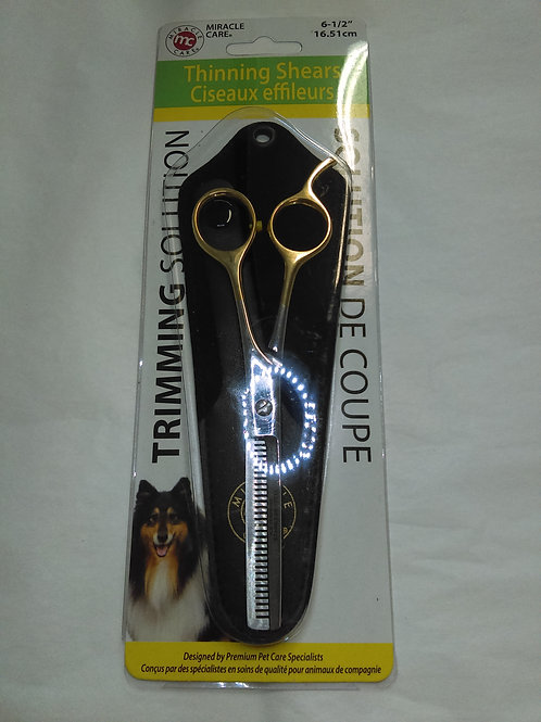 """Miracle Care Thinning Shears 6 1/2"""""""