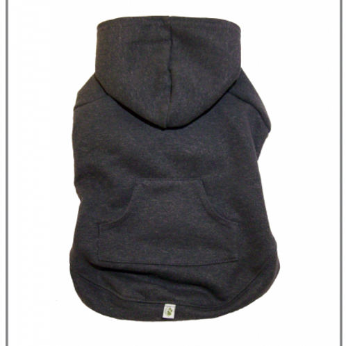 Apple Hoodie Charcoal Grey by Eco Pup