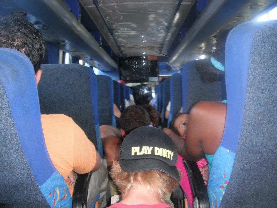 montanita bus