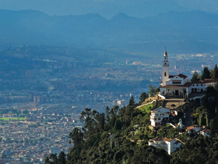 Mount Monserrate in Bogota, Colombia!
