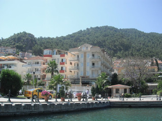 Exploring the Town and Tombs in Fethiye, Turkey!
