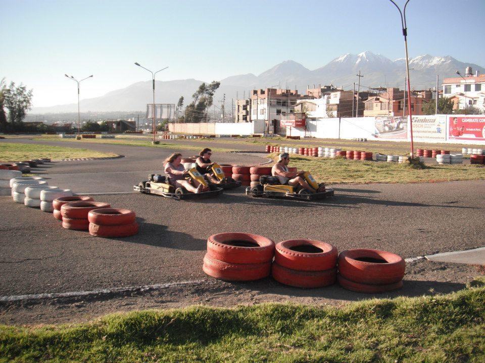 Karts in Arequipa, Peru