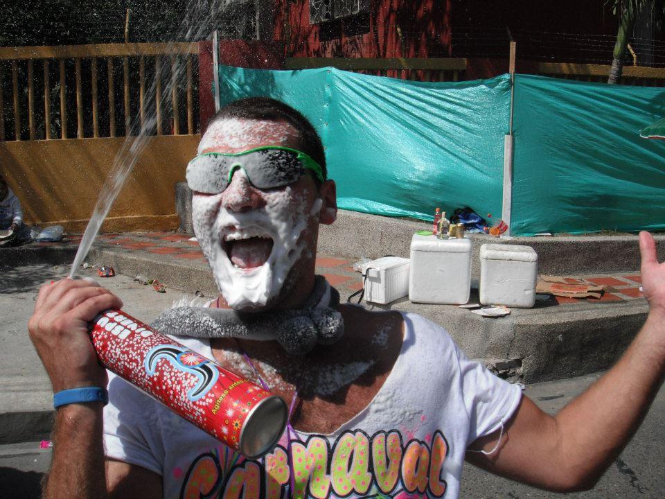 Barranquila Foam Carnaval