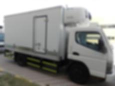 EAGLE Industries DWC Dubai GSE Refrigeration Trucks