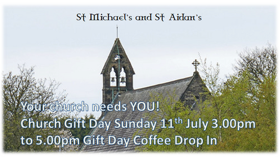 GIFT DAY Sunday 11th July