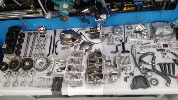 Motor Kawasaki ZX10R