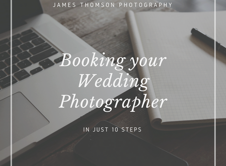 Booking your Wedding Photographer