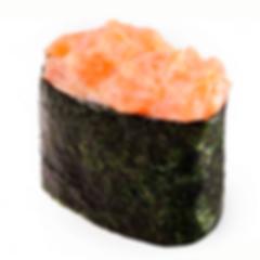 гункан с лососем суши Запорожье доставка