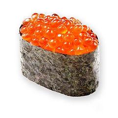 гункан с красной икрой суши Запорожье доставка