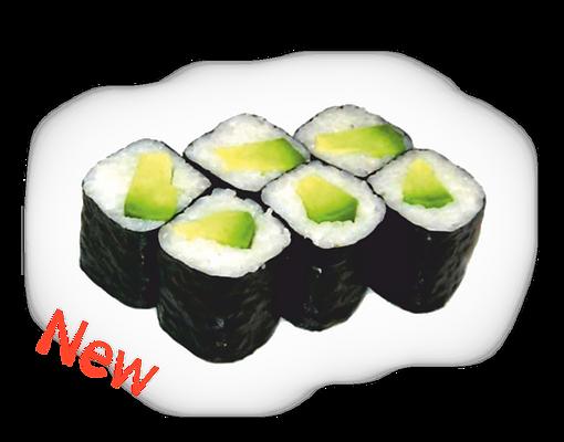 суши Запорожье маки с авокадо доставка роллы