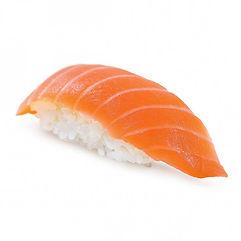 нигири с лососем сяке сушка суши Запорожье доставка