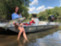 Atlanta fishing charter specializing in North Georgia rivers and lakes.