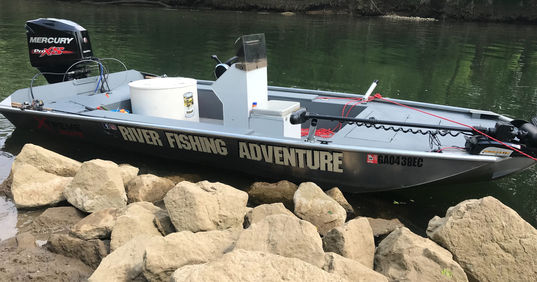 Etowah River Fishig Guide