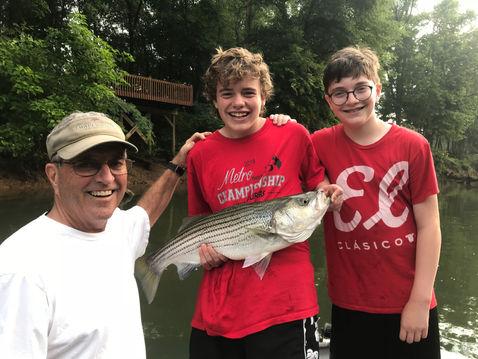 Atlanta fishing charter