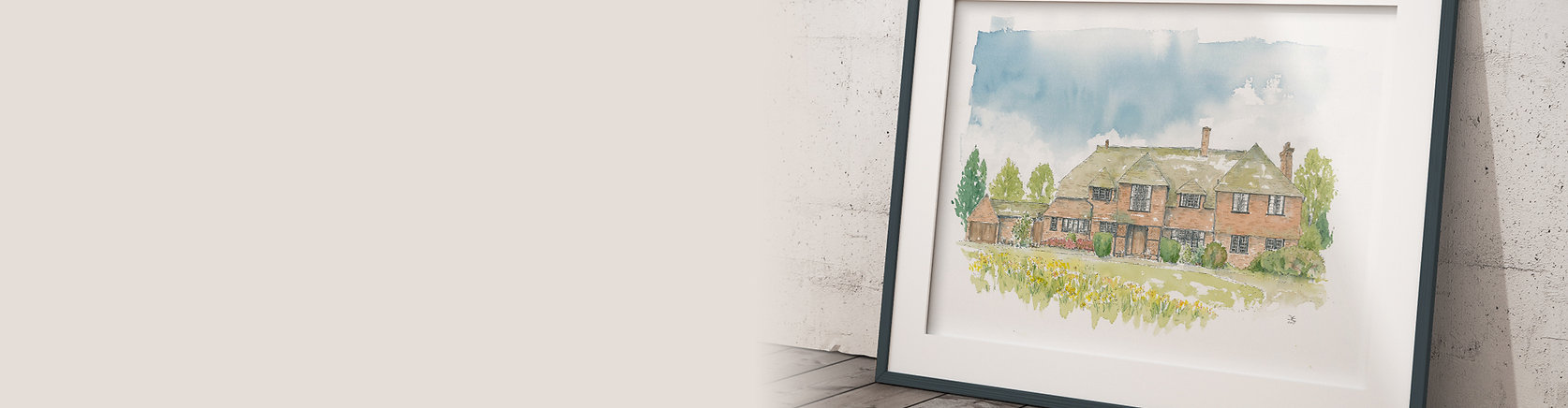 order custom print of your house