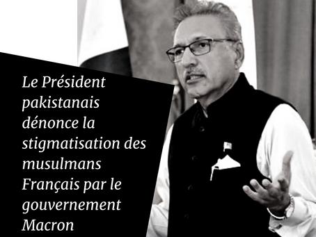 """Le Président pakistanais critique la loi """"Séparatisme"""", Jean-Yves Le Drian se vexe."""