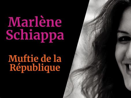 Marlène Schiappa, muftie de la République