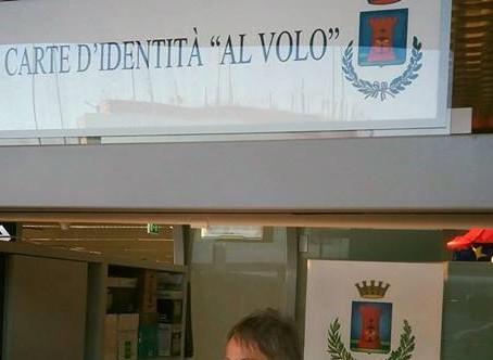 """Orari Sportello """"Carte d'identità al volo"""""""