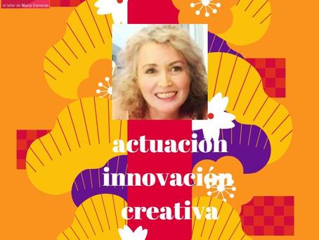 Taller de actuación e innovación creativa Un nuevo formato para tu entrenamiento artístico  continuo