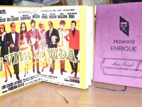 Premios Enrique, cada edición un objeto distinto especialmente creado para distinguir a los ganadore