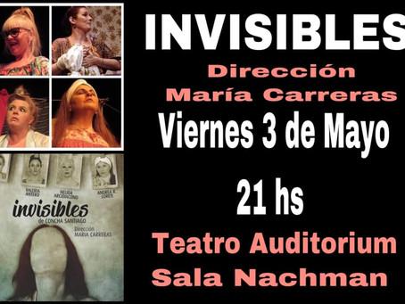 """Mayo """"disfrutá el teatro"""" con """"Invisibles"""" y """"La Pipa de la Paz"""""""