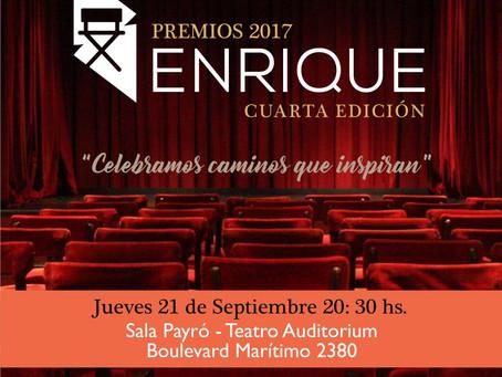 Con la primavera llega la 4ª Edición de los Premios Enrique