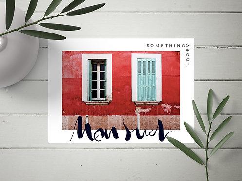 "Carte Postale ""Mon Sud"" N°1"