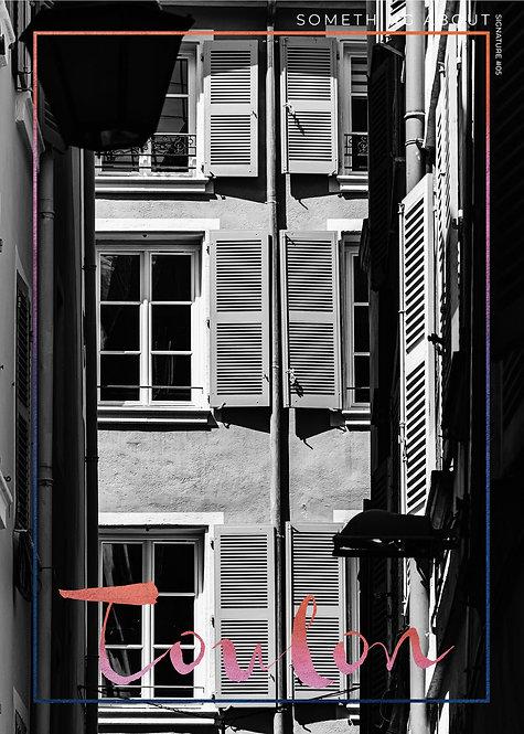 Affiche Éditions Signature #6