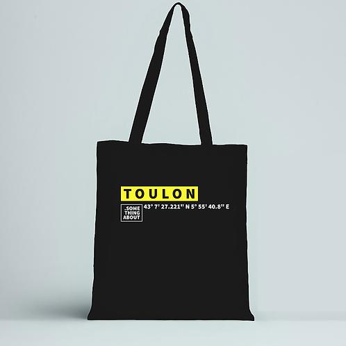 TOULON - TOTE BAG NOIR