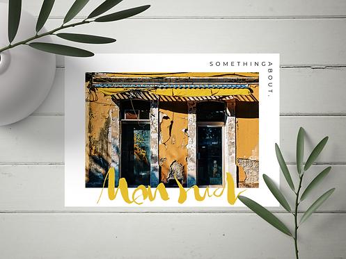 "Carte Postale ""Mon Sud"" N°21"