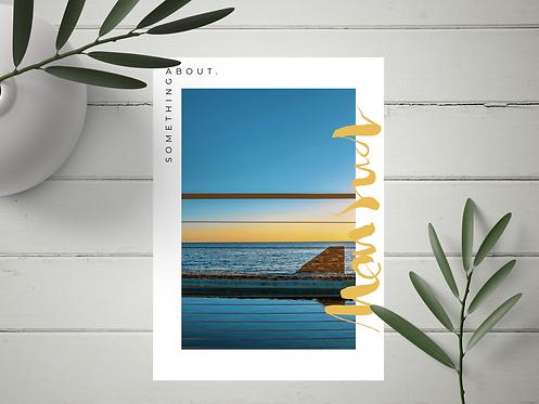 "Carte Postale ""Mon Sud"" N°12"