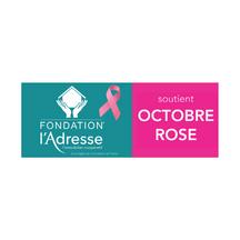 L'ADRESSE IMMOBILIER & OCTOBRE ROSE