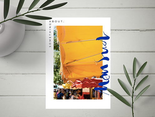 "Carte Postale ""Mon Sud"" N°23"