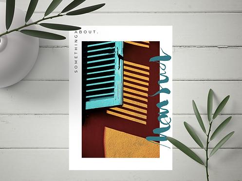 "Carte Postale ""Mon Sud"" N°11"
