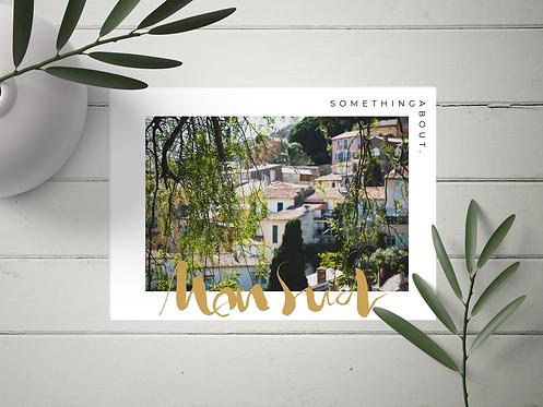 Carte Postale Mon Sud N°4
