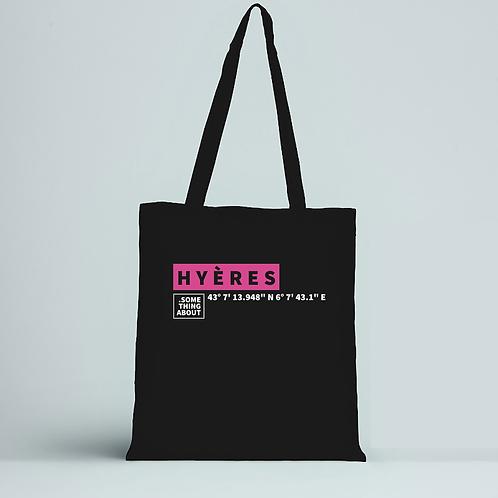 HYÈRES - TOTE BAG NOIR