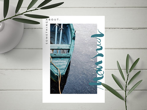 "Carte Postale ""Mon Sud"" N°17"
