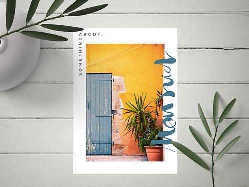 "Carte Postale ""Mon Sud"" N°20"