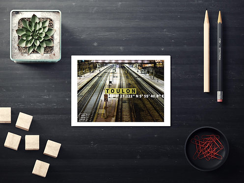 Carte Postale Le Lab' Toulon N°7