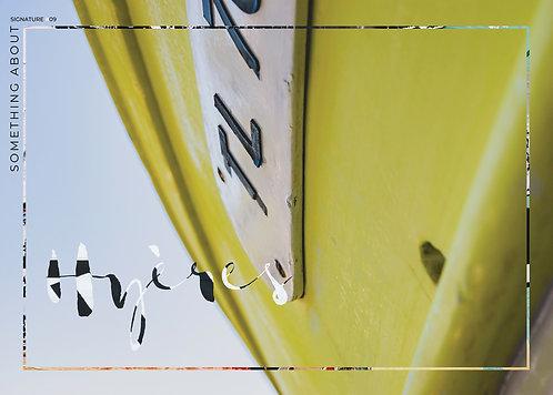 Affiche Éditions Signature #9
