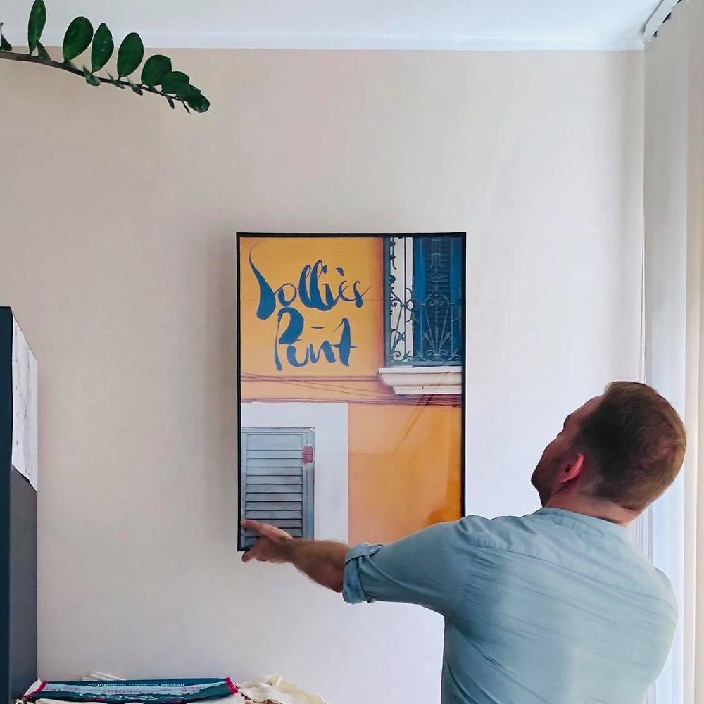 Les Agences L'Adresse Toulon, Solliès Pont et Vidauban décorent leurs locaux avec les créations Something About/Say Communication