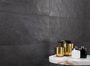 LEA077 - Waterfall Dark Matt 45x90_bathr