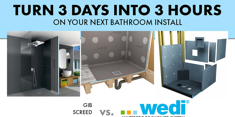 Join Us for the Wedi Workshop & Trade Breakfast