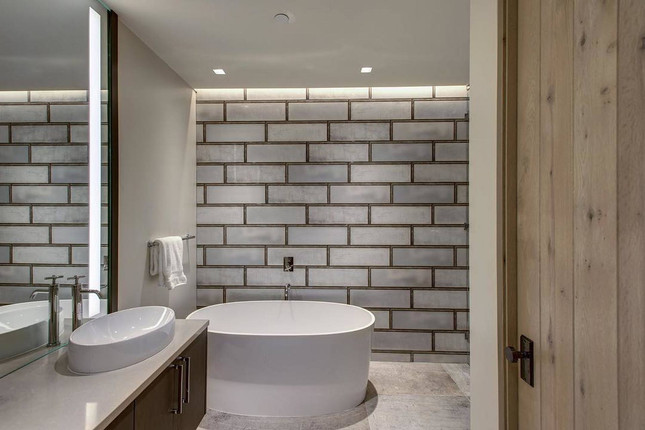 DSL017_bathroom__Industrial White Glass