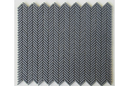Mini Herringbone 95 Dark Grey