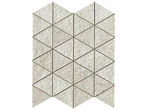 Klif White Triangle Mosaic 28.5x33